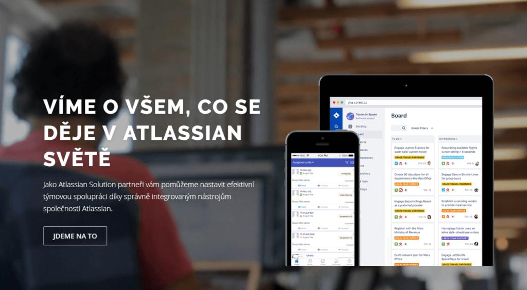 Nový web věnovaný Atlassian produktům