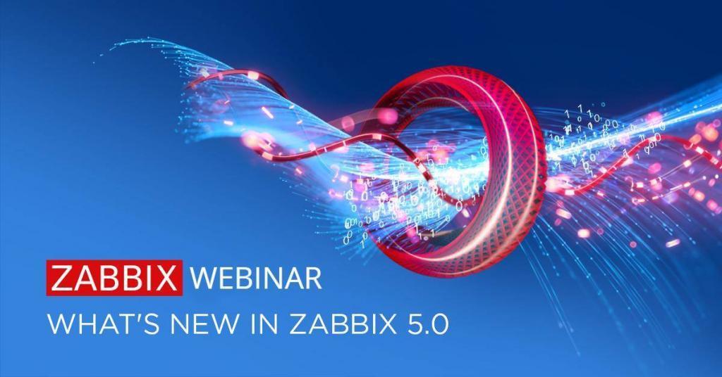 """Webinář """"Co je nového v Zabbixu 5.0"""""""