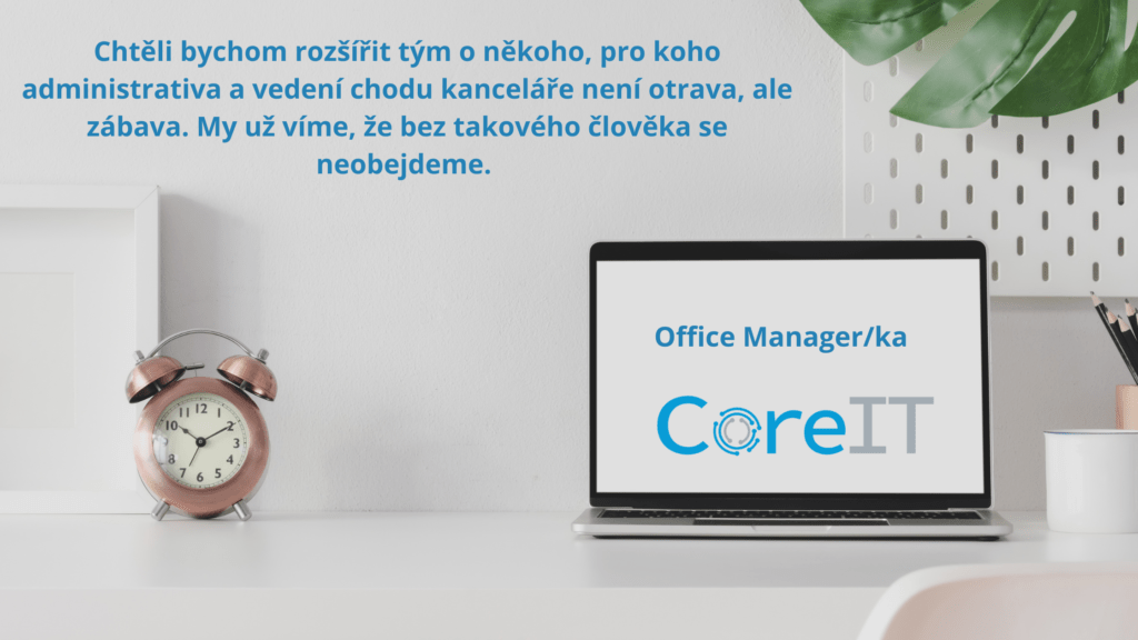 Hledáme Office Managerku