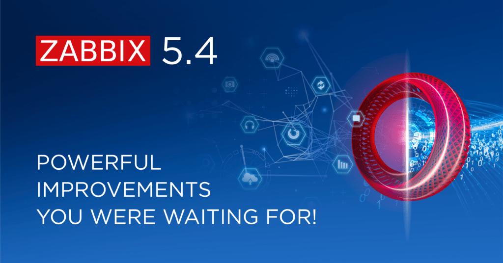 Nový Zabbix 5.4.